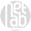 logo netlab grigio